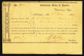 Confederate Notes:Group Lots, Interim Depository Receipt Tallahasse, Fla- $100 March 18, 1864Tremmell FL-45.. ...