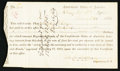 Confederate Notes:Group Lots, Interim Depository Receipt Lexington, VA- $800 March 21, 1864Tremmell VA-64.. ...