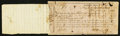 Confederate Notes:Group Lots, Interim Depository Receipt Hanover, Co. (VA)- $100 March 29, 1864Tremmell VA-183. . ...