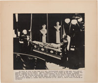 Photograph: Abraham Lincoln Lying in State in New York City