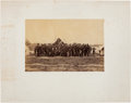 Miscellaneous:Ephemera, Photograph: General George G. Meade and Staff, 1863....