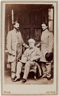 Photography:CDVs, Robert E. Lee Carte de Visite Taken One Week after His Surrender....