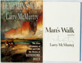 Books:Literature 1900-up, Larry McMurtry. SIGNED. Deadman's Walk. New York: Simon andSchuster, [1995]. First edition. Signed by the author....