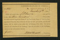 Confederate Notes:Group Lots, Interim Depository Receipt Asheville, NC- $100 Mar. 19, 1864Tremmel NC-10. . ...
