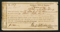 Confederate Notes:Group Lots, Interim Depositary Receipt Richmond, (VA)- $500 Feb. 23, 1864Tremmel VA-184. . ...
