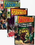 Silver Age (1956-1969):Horror, Chamber of Darkness #1-4 Group (Marvel, 1969-70).... (Total: 4Comic Books)