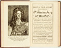 Books:Americana & American History, Rutherford Goodwin. A Brief & True Report ConcerningWilliamsburg in Virginia. Modern facsimile of the thirdedition...