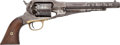 Military & Patriotic:Civil War, Very Nice Remington New Model Army .44 Caliber Percussion Revolver Serial # 71676, New Jersey Surcharge...