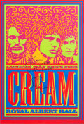 Music Memorabilia:Posters, Cream Reunion Concert Poster signed by Jack Bruce (2005)....