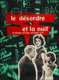 """Movie Posters:Foreign, The Night Affair (Les Films Corona, 1958). French Grande (45.5"""" X 62""""). Foreign.. ..."""
