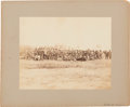 Photography:Cabinet Photos, Confederate Prisoners Mounted Albumen Photograph....
