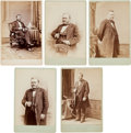 Photography:Cabinet Photos, Ulysses S. Grant: Five Cabinet Cards on Mathew Brady Mounts....