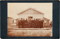 Photograph: Ulysses S. Grant and Staff Cabinet Card