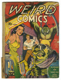 Golden Age (1938-1955):Horror, Weird Comics #1 (Fox Features Syndicate, 1940) Condition: FR. TheBirdman, Thor, the Sorceress of Zoom, Blast Bennett, Typho...