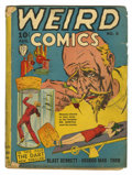 Golden Age (1938-1955):Horror, Weird Comics #5 (Fox Features Syndicate, 1940) Condition: FR.Bondage/hypo cover. Intro Dart and sidekick Ace. Somewhat brit...