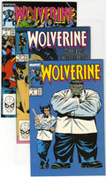 Modern Age (1980-Present):Superhero, Wolverine Group (Marvel, 1989) Condition: Average NM. Two copies of #7, three copies of #8, and ten copies of #15 are includ... (Total: 15 Comic Books)