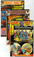 Bronze Age (1970-1979):Superhero, World's Finest Comics Group (DC, 1971) Condition: Average VF. A good-looking group from the Bronze Age is featured in this l... (Total: 5)