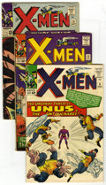 Silver Age (1956-1969):Superhero, X-Men #8, 13, and 15 Group (Marvel, 1964-65) Condition: Average VG. Group of three comics includes X-Men #8 (first Unus ... (Total: 3 Comic Books)