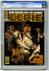 Eerie #89 (Warren, 1978) CGC NM/MT 9.8 Off-white to white pages. Malcolm McNeill cover art. Gonzalo Mayo, Luis Bermejo...