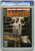 "Magazines:Horror, Famous Monsters of Filmland #162 (Warren, 1980) CGC NM+ 9.6 White pages. Photo cover. The ""Fog"" movie preview. Stephen King ..."