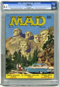 Magazines:Mad, Mad #31 (EC, 1957) CGC VF+ 8.5 Off-white pages. Norman Mingo coverart. Kelly Freas art begins. Last Jack Davis art until is...