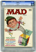 Magazines:Mad, Mad #33 (EC, 1957) CGC VF+ 8.5 Off-white pages. Norman Mingo cover art. Cowboy spoof with Wally Wood art. Joe Orlando, Don M...