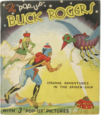 The Pop-Up Buck Rogers (Pleasure Books, 1935) Condition: GD/VG. Has 22 pages with 3 color pop-up scenes, the rest is ill...