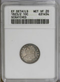 Bust Dimes: , 1823/2 10C Small Es VF20--Scratched--ANACS, XF Details. NGC Census:(3/85). PCGS Population (0/51). Mintage: 440,000. Numis...