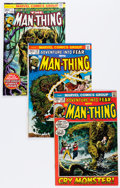 Bronze Age (1970-1979):Horror, Man-Thing Group (Marvel, 1972-75) Condition: Average VF-....(Total: 38 Comic Books)