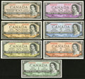 "Canadian Currency: , A $1 to $100 Denomination Set of Canadian Coyne-Towers ""Devil'sFace"" Notes.. ... (Total: 7 notes)"
