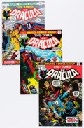 Bronze Age (1970-1979):Horror, Tomb of Dracula Group (Marvel, 1973-78) Condition: Average VF....(Total: 35 Comic Books)