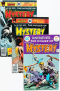Bronze Age (1970-1979):Horror, House of Mystery Group (DC, 1975-82) Condition: Average NM-....(Total: 29 Comic Books)