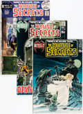Bronze Age (1970-1979):Horror, House of Secrets Group (DC, 1970-78) Condition: Average VF....(Total: 23 Comic Books)