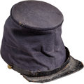 Military & Patriotic:Civil War, Civil War Enlisted Man's Forage Cap With New Jersey Side Buttons...