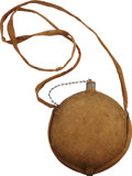 Military & Patriotic:Civil War, U.S. Model 1858 Smooth Side Canteen Complete With Sling and Brown Wool Cover....
