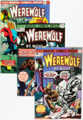 Bronze Age (1970-1979):Horror, Werewolf by Night Group (Marvel, 1972-75) Condition: Average FN....(Total: 13 Comic Books)