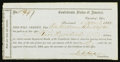 Confederate Notes:Group Lots, Interim Depository Receipt Savannah, (GA)- $500 April 1, 1864Tremmell GA-139.. ...