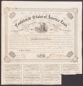 Confederate Notes:Group Lots, Ball 212 Cr. 120 $100 1863 Bond Very Good.. ...