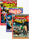 Bronze Age (1970-1979):Horror, Tomb of Dracula Group (Marvel, 1972-76) Condition: AverageFN/VF.... (Total: 13 Comic Books)