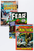 Bronze Age (1970-1979):Horror, Fear Group (Marvel, 1970-74) Condition: Average VF.... (Total: 15Comic Books)