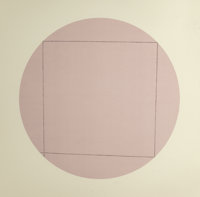 ROBERT MANGOLD (American, b. 1937) Distorted Square within a Circle (three works), 1973 S