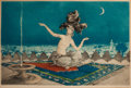 Fine Art - Work on Paper:Print, LOUIS ICART (French, 1888-1950). Scheherazade, circa 1927.Color etching and aquatint. 13-1/4 x 20-1/4 inches (33.7 x 51...
