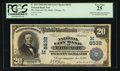 Error Notes:Double Denominations, Chicago, IL- $20/$10 1902 Date Back Fr. 644 The National City Bank Ch. # (M)8532 Double Denomination. ...
