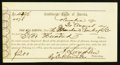 Confederate Notes:Group Lots, Interim Depository Receipt Columbia, (SC)- $200 August 30, 1864Tremmell SC-66. . ...