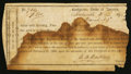 Confederate Notes:Group Lots, Interim Depository Receipt Statesville, (NC)- $800 March 23, 18__Tremmell NC-150. . ...