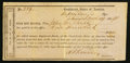Confederate Notes:Group Lots, Interim Depository Receipt Staunton, (VA)- $900 March, 14, 1864Tremmell VA-226.. ...