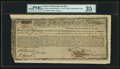 Colonial Notes:Massachusetts, Massachusetts Commodity Bond £750 January 1, 1780 Anderson MA-22PMG Choice Very Fine 35 Net.. ...
