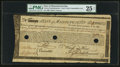 Colonial Notes:Massachusetts, Massachusetts Commodity Bond £365 January 1, 1780 Anderson MA-20PMG Very Fine 25 Net, 3 HOC.. ...