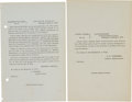 Autographs:Military Figures, Collection of Approximately Seventy Printed Union General Orders Dated Between May 17, 1861, and June 2, 1865....
