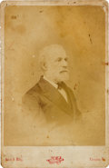 Photography:Cabinet Photos, Robert E. Lee Cabinet Card....